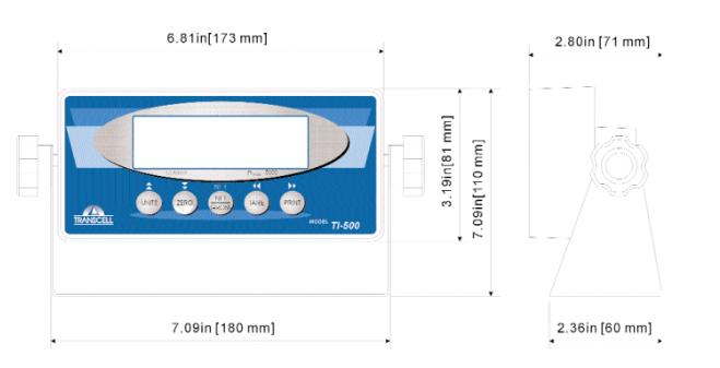 TranscellTI-500E仪表