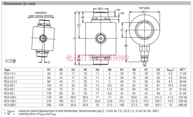 RC3-40t-C3产品尺寸图