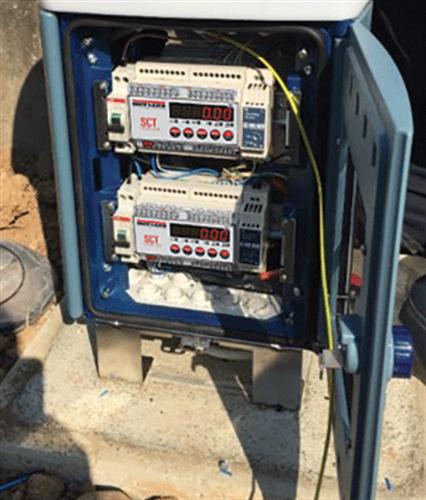 SCT-1100变送器/控制器现场安装图