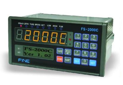 FS系列:FS-2101C称重仪表-韩国Fine控制仪表