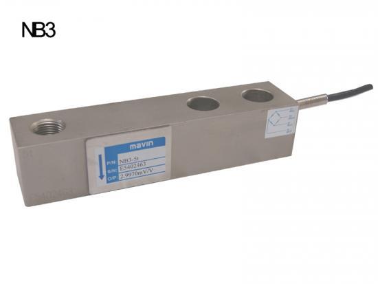 NB3-5T称重传感器 地磅秤梁式台湾2.5-7.5t NB3系列台湾Mavin
