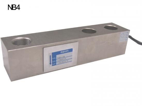 NB4-10T称重传感器-台湾Mavin 用于料斗秤NB4剪切梁
