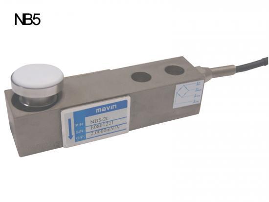 NB5-2T钢合金剪切梁式称重传感器NB5台湾Mavin
