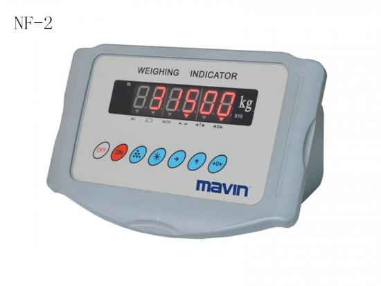NF-2称重显示器仪表控制器 塑料外壳 台湾mavin