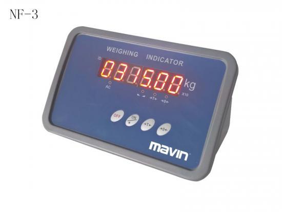 NF-3称重显示器仪表控制器 塑料外壳经济形 台湾mavin
