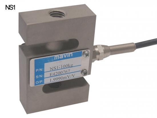 NS1-100张力传感器NS1系列 台湾Mavin 合金钢S型