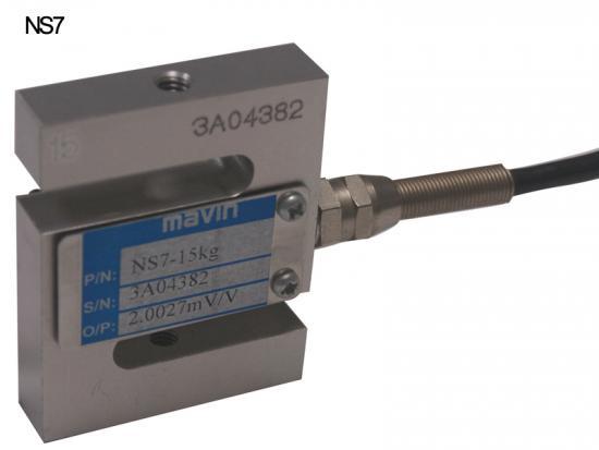NS7-10kg,NS7-20kg铝合金拉力传感器台湾mavin