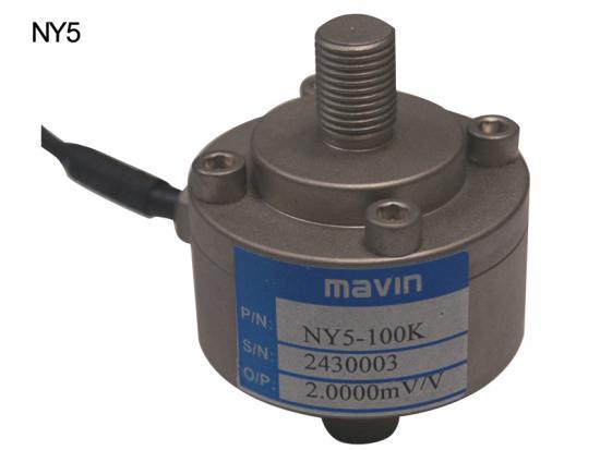NY5-50kg/100kg张力/压力称重传感器螺栓型台湾mavin