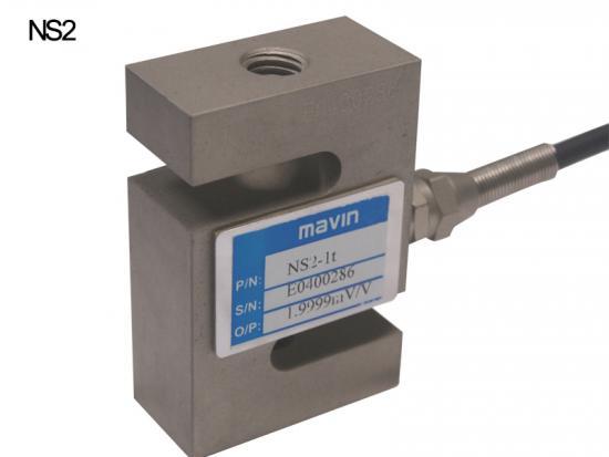 NS2-1t小量程S型拉压力称重传感器NS2系列 台湾Mavin