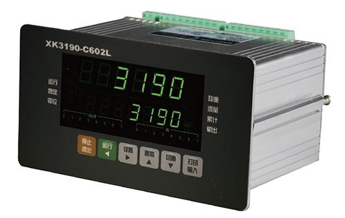 XK3190-C602L称重显示控制仪表