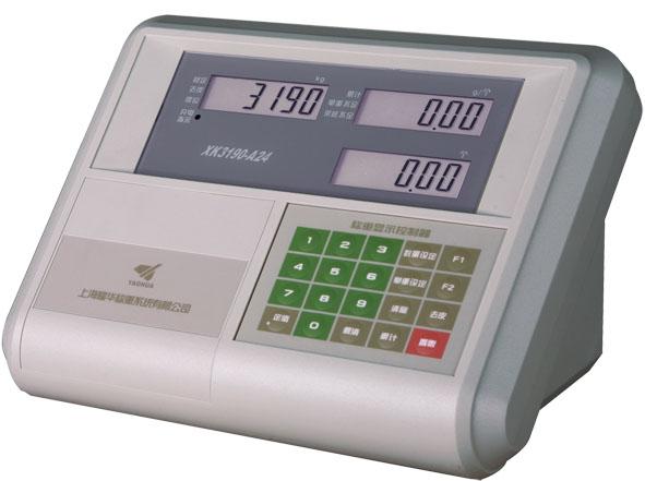 XK3190-A24三窗口显示的计数秤专用仪表