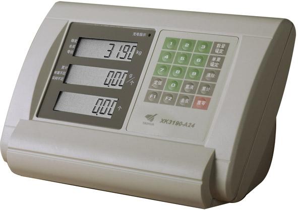 XK3190-A24三窗口显示仪表台秤专用