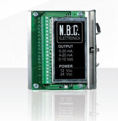 ANA126R重量变送器 意大利NBC ANA126R变送器