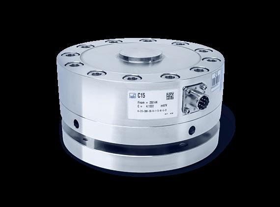 C15力传感器,额定量程 2.5 kN 到 1 MN-德国HBM