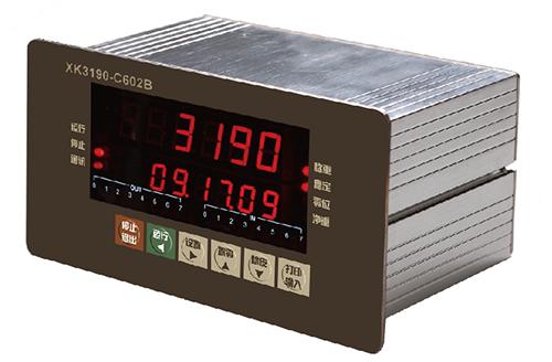 XK3190-C602B盘装式可编程控制仪表