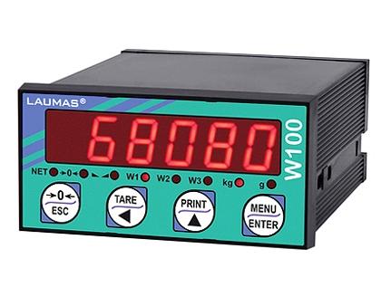 W100称重显示控制器 意大利laumas