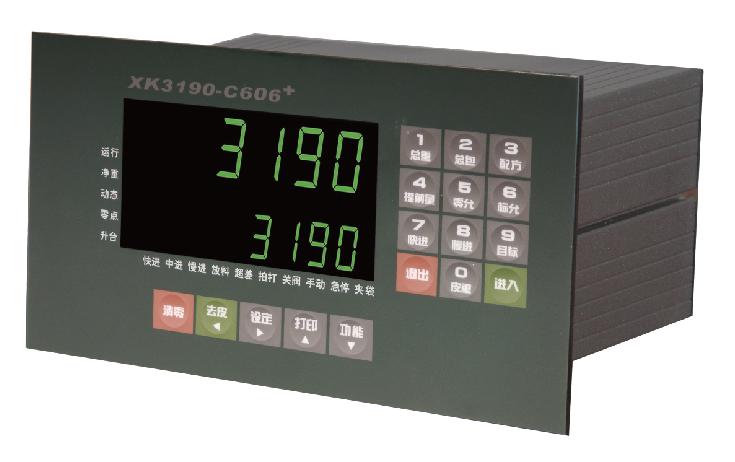 XK3190-C606+包装秤仪表
