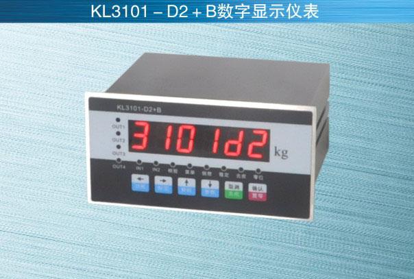KL3101-D2+B数字显示仪表-宁波柯力