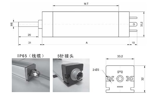 LWF电子尺详细结构图: