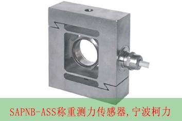 SAPNB-ASS-50kg称重测力传感器 S型 -宁波柯力
