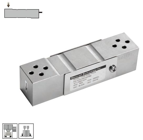 FSSB-C4-300Kg单点式传感器 不锈钢材质 -美国传力