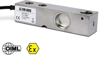 SBX-1KL系列剪切梁称重传感器,量程从500Kg~2500Kg