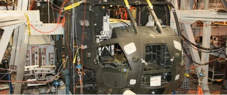灵活且可扩展:直升机机身全尺寸疲劳试验