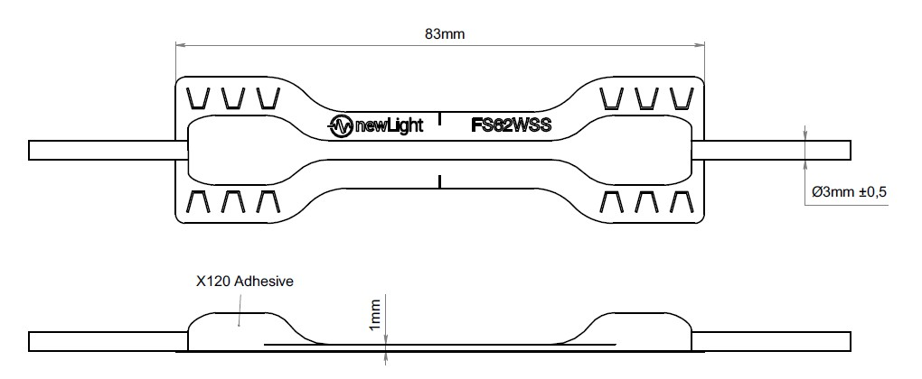 FS62WSS外观尺寸图