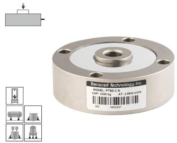 PTCT轮辐式称重传感器-传力