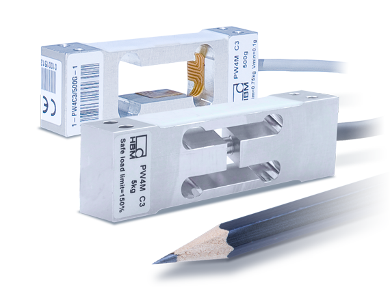 PW4M-OP高精度单点称重传感器:量程300g到5kg