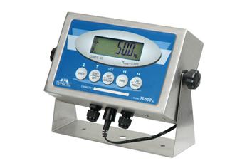 TI-500SL称重仪表  4X不锈钢制成 背光LCD 显示屏