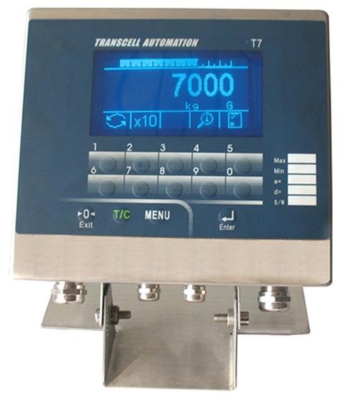 T7高性能称重终端仪表 更精准、更快捷、更强大