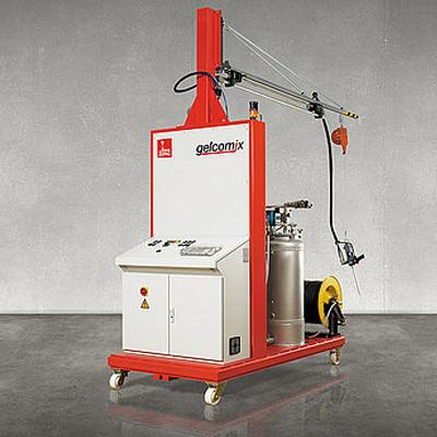 gelcomix齿轮泵定量系统 德派 DOPAG