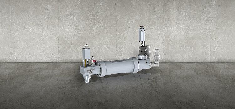 silcomix液态硅橡胶定量混合单元 柱塞定量系统