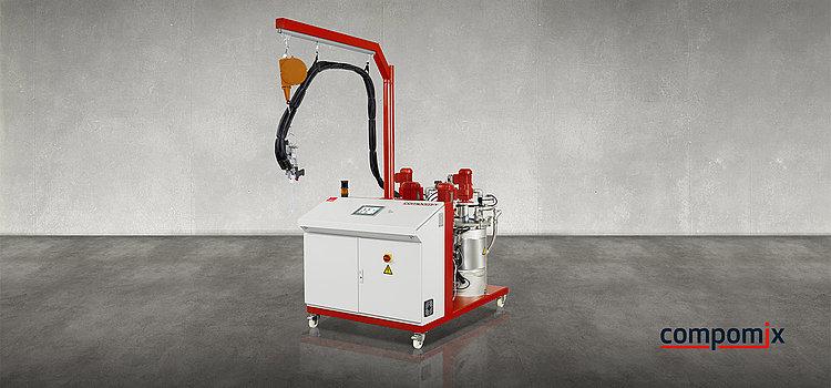 compomix齿轮泵定量系统 双组份系统 德派 DOPAG