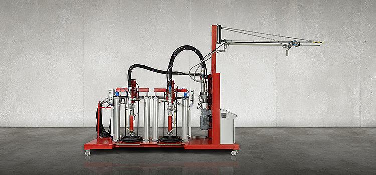 gluemix 齿轮泵定量系统