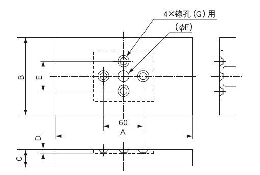 LCTB-A称重传感器 薄型载荷传感器