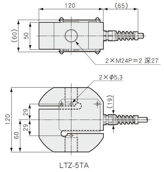 LTZ-5TA外形尺寸图