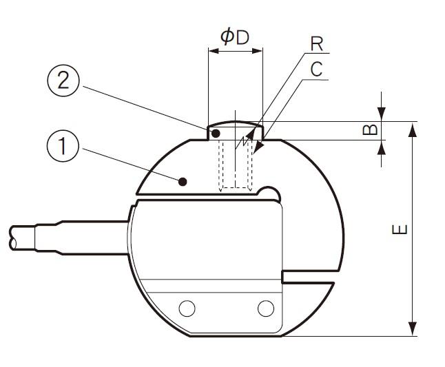 LTZ-A载荷称重传感器与载荷挡块(CWM)的组合