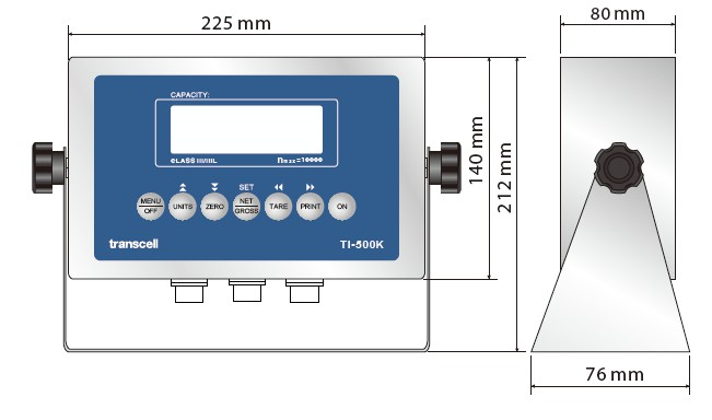 产品尺寸Dimensions