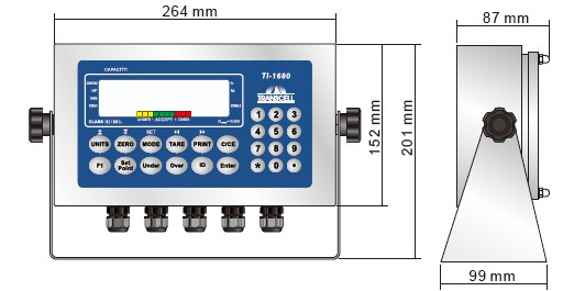 TI-1680称重显示仪表