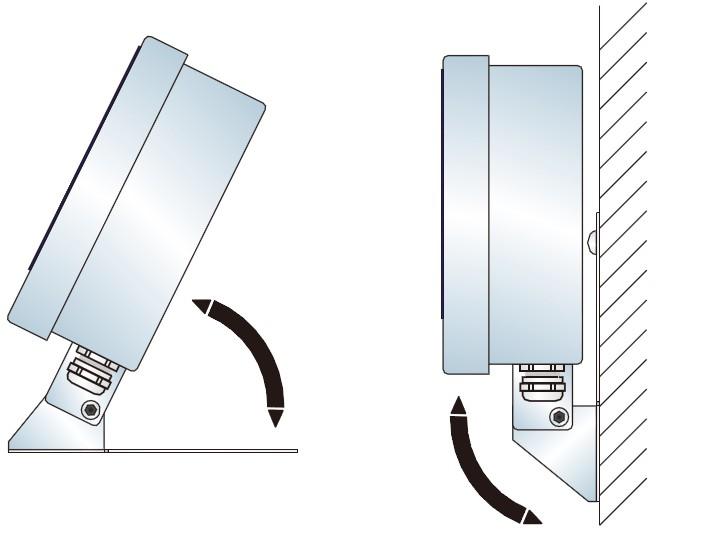 台/墙式安装支架选件