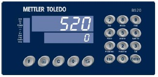 B520称重显示控制器METTLER TOLEDO/梅特勒托利多