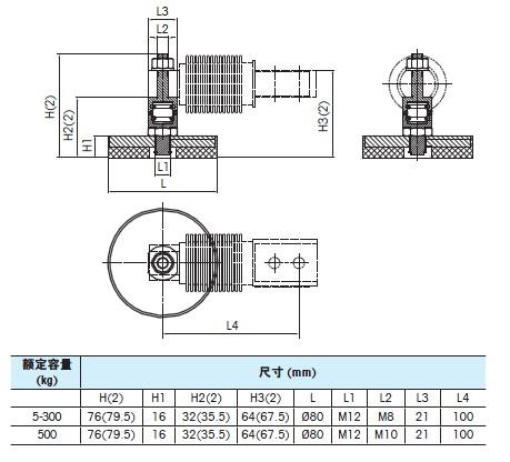 MTB传感器连接件尺寸图