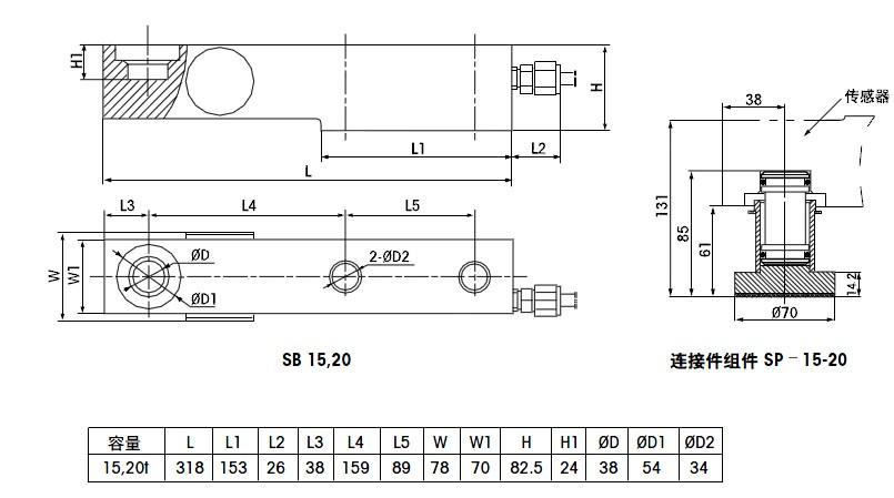 连接组件sp-15