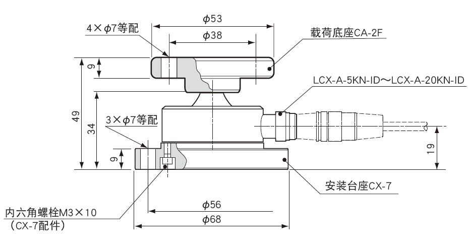 LCX-A-ID载荷传感器-日本kyowa