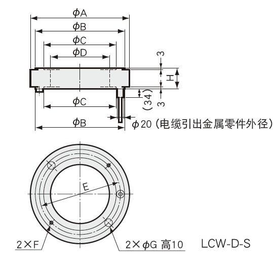 LCW-D-S称重传感器