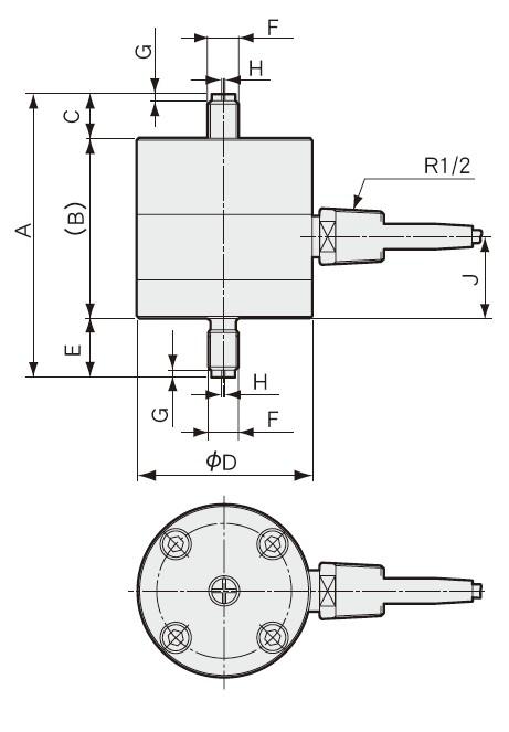 LT-FH拉伸式载荷称重传感器高 LT-FL低温专用称重传感器