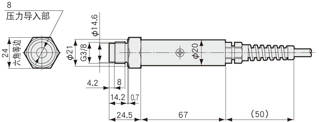 PAL-A压力传送器,PAL-B压力传感器电流输送型-日本kyowa