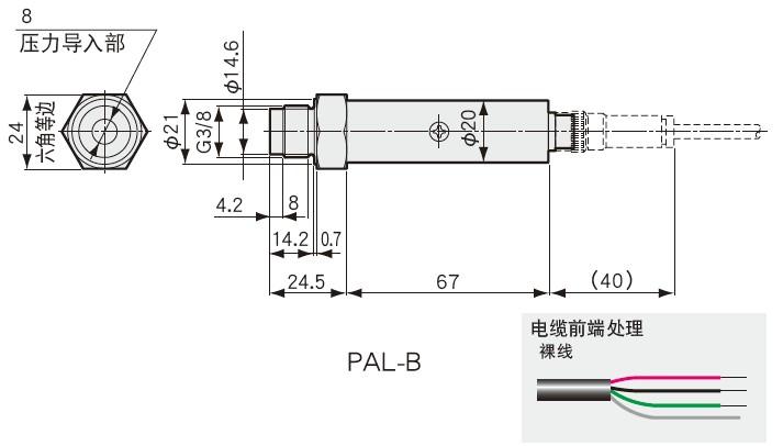 PAL-B外观尺寸图
